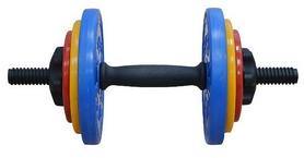 Гантель наборная Inter Atletika 8,82 кг цветная