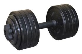 Гантель наборная Inter Atletika 23,82 кг черная