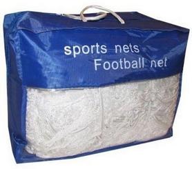 Сетка на ворота футбольные тренировочная узловая (2шт) С-5004 (PP 2,5мм, яч. 12x12см, PVC чехол) (шт.)