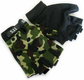 Перчатки тактические 5.11 BC-4379-H камуфлированные