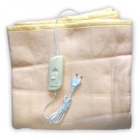 Фото 2 к товару Электропростынь(электроодеяло) Electric Blanket полуторное бежевая