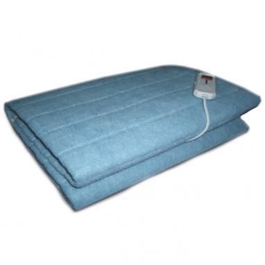 Электропростынь(электроодеяло) Electric Blanket полуторное синяя