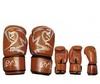 Перчатки боксерские Rival MA-3307-BR кожаные коричневые - фото 1