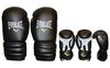 Перчатки боксерские Everlast MA-5018-BK черные - фото 1