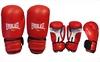 Перчатки боксерские Everlast MA-5018-R красные - фото 1