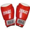 Перчатки боксерские Everlast VL-0105-R кожаные красные - фото 1