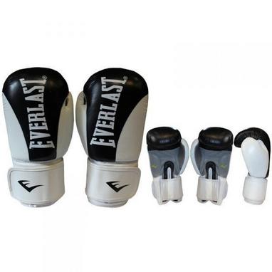 Перчатки боксерские Everlast BO-3626-BK кожаные черные