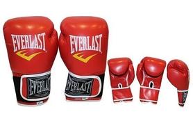 Перчатки боксерские Everlast BO-3987-R красные - Фото №2