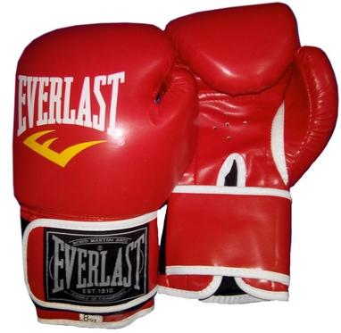 Перчатки боксерские Everlast BO-3987-R красные