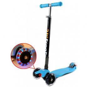 Фото 1 к товару Самокат трехколесный сладной 21st Scooter G-40 голубой