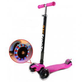 Фото 1 к товару Самокат трехколесный сладной 21st Scooter G-40 розовый