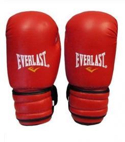 Фото 1 к товару Перчатки боксерские Everlast MA-5018-R красные