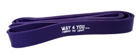 Тренажер - резиновая петля Way-4-you фиолетовая 11-36 кг