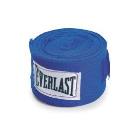 Бинты классические укороченные Everlast синие (2 шт)