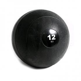 Фото 1 к товару Мяч медицинский (слэмбол) Pro Supra Slam Ball 12 кг черный