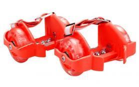 Ролики на пятку Flashing Roller 80 кг красные 846-466-80-R