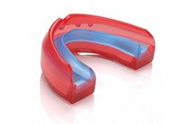 Фото 1 к товару Капа для брекетов гелевая Shock Doctor Ultra Braces красная