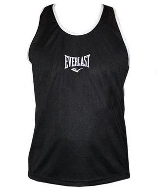 Распродажа*! Майка боксерская Everlast ULI-9015-BK черная - L