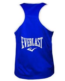 Фото 2 к товару Майка боксерская Everlast ULI-9015-B синяя