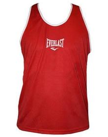 Распродажа*! Майка боксерская Everlast ULI-9015-R красная - L