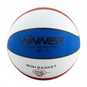 Мяч баскетбольный Winner Trikolor 5 №5