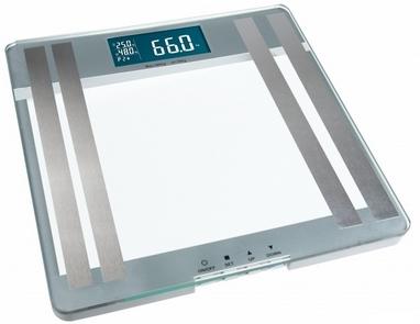 Весы напольные (стеклянные) Medisana 40446 с функцией определения параметров организма