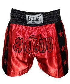 Трусы для тайского бокса Everlast ULI-9005 красные