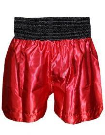 Фото 2 к товару Трусы для тайского бокса Everlast ULI-9005 красные