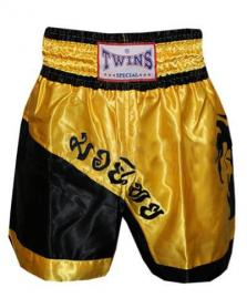 Трусы для тайского бокса TWINS ZB-6138-Y желтые