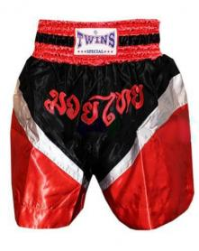 Фото 1 к товару Трусы для тайского бокса TWINS ZB-6142-R красные