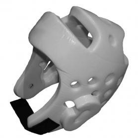Шлем для тхэквондо WTF белый - L