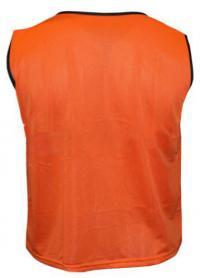 Фото 2 к товару Накидка (манишка) тренировочная Soccer оранжевая