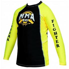 Рашгард детский Berserk MMA Kids yellow