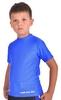 Футболка компрессионная детская Berserk for Kids Martial Fit blue - фото 2
