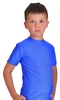 Футболка компрессионная детская Berserk for Kids Martial Fit blue - фото 3