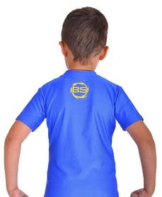 Фото 4 к товару Футболка компрессионная детская Berserk for Kids Martial Fit blue