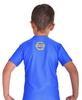 Футболка компрессионная детская Berserk for Kids Martial Fit blue - фото 4