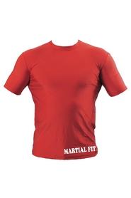 Фото 2 к товару Футболка компрессионная Berserk Martial Fit красная