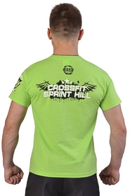 Фото 2 к товару Футболка Berserk Crossfit Sprint Hill лайм
