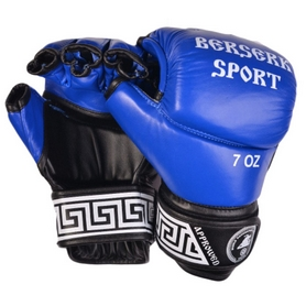 Фото 1 к товару Перчатки Berserk Sport Full for Pankration Approwed WPC 7 oz blue