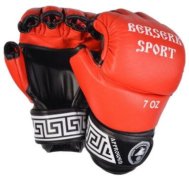 Перчатки Berserk Sport Full for Pankration Approwed WPC 7 oz red