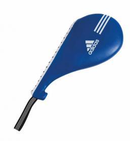 Ракетка (хлопушка) для тхэквондо двойная Adidas синяя - S