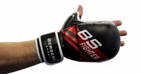 Фото 3 к товару Перчатки для смешанных единоборств 7 oz Fighter black