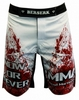Шорты для MMA Berserk Blood Fighter white - фото 1