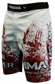 Фото 2 к товару Шорты для MMA Berserk Blood Fighter white
