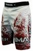 Шорты для MMA Berserk Blood Fighter white - фото 2