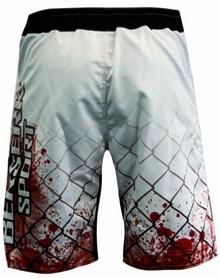 Фото 3 к товару Шорты для MMA Berserk Blood Fighter white