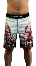 Фото 4 к товару Шорты для MMA Berserk Blood Fighter white
