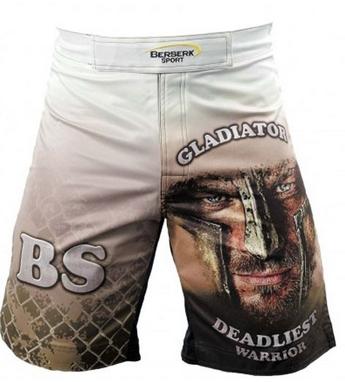 Шорты для MMA Berserk Gladiator white