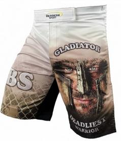 Фото 3 к товару Шорты для MMA Berserk Gladiator white